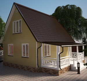 Проекты домов - Архитектура и дизайн интерьера
